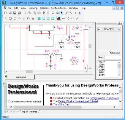 DesignWorks Solutions Inc. | Schematic Capture and Digital Simulation